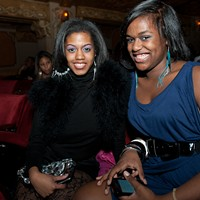 Trey Songz at the Fox Theatre Trey Songz fans. Jon Gitchoff