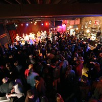 New Year's Eve Party at Off Broadway By 9:30 p.m. Off Broadway was a packed house.