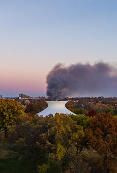 Photos Captured the Horror as Massive Warehouse Fire Raged
