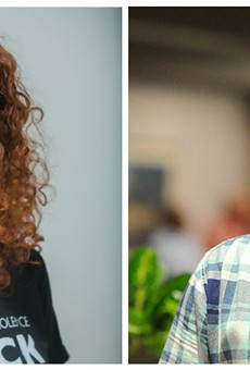 Democratic committee members Annie Rice and Paul Fehler will face off for the 8th Ward seat.