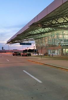 The second terminal at St. Louis Lambert International Airport.