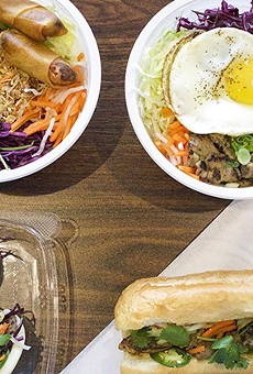 DD Mau serves fast-casual Vietnamese cuisine in Maryland Heights.