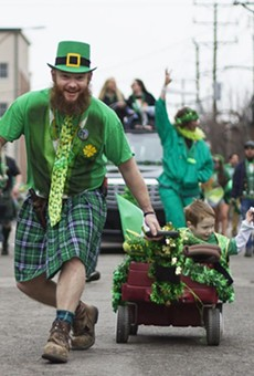 The 2016 parade brought a sea of green to Dogtown.