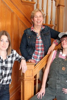 Laura Tetley, Tammy Behm and Laura Caldie are bringing Maypop Coffee & Garden Shop to Webster Groves this May.