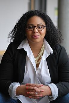 NARAL Missouri Statewide Organizer Jessica Estes.
