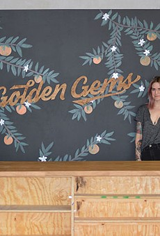 Susan Logsdon (left) and Amanda Helman (right) are the owners of Golden Gems, the newest store front on Cherokee Street.