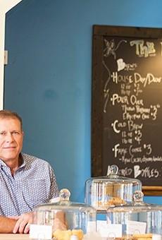 Paul Whitsitt, owner of Kitchen House Coffee.