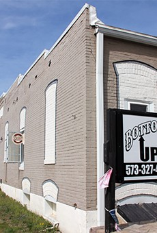 Bottoms Up bar, the site of a alleged assault by a Park Hills councilman last month.
