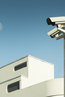 Hundreds of surveillance cameras now feed into a system monitored in real time by St. Louis police.