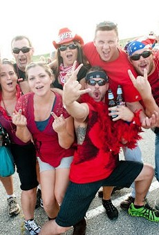 KSHE regalia? Check. Beer? Check. But are they really St. Louisans? Only our quiz will tell.