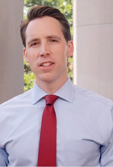 Josh Hawley focused his new campaign ad on the Supreme Court opening.