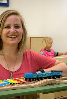Megan King-Popp is creating a sanctuary for kids and adults alike at Urban Fort.