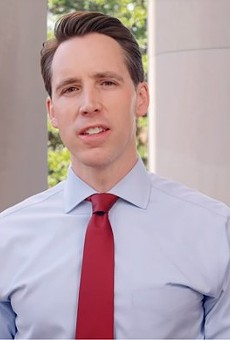 Josh Hawley, champion of obscure laws violating the First Amendment.