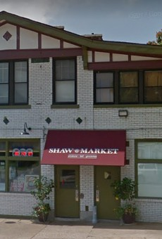 Shaw Market was robbed on Wednesday.