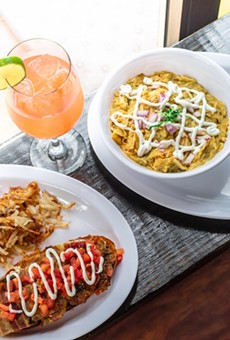 Thurman's morning food offerings will include the classic Mexican brunch staple chilaquiles.