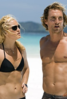 Dude, haven't we been here before? Matt McConaughey and Kate Hudson in Gold.