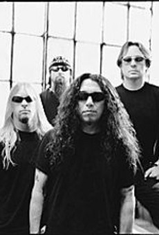 Slayer: Satan's so bright they have to wear shades.