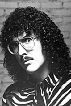 Weird Al Yankovic gets giggy at the Pageant