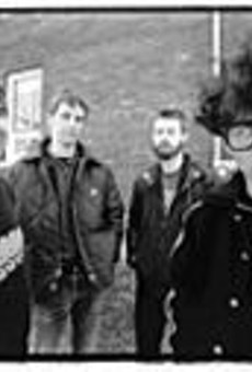 Haymarket Riot, from left: Billy Smith, drums; Fred Popolo, bass and vocals; Mike Bennett, guitar; and Kevin J. Frank, guitar and vocals.