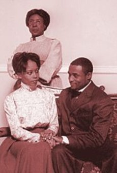 Cherita Armstrong, Eric Conners and Marjorie Johnson (standing) in Oak and Ivy.