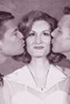 Larry Alexander, Corinne Melanon and David Schmittou in Stages' High Society, a polished, cheerful production of a cheesy show