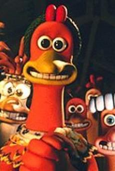 Chicken Run's Ginger, voiced by Julia Sawalha
