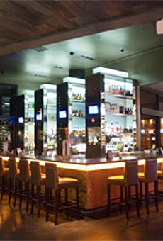 So Sleek: Lumière Place's steak house.