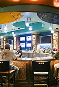 Mas tequila: Sammy's Beach Bar & Grill sets up its umbrella in Maryland Heights.