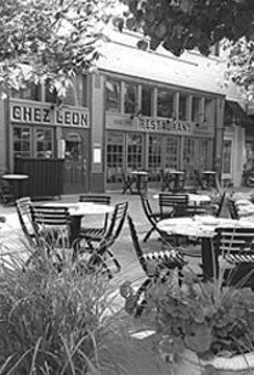 Chez Leon: classically French, with an undeniable charm