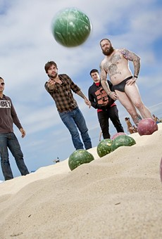 Every Time I Die: High jinks abound, indeed. Now they're caught on tape.