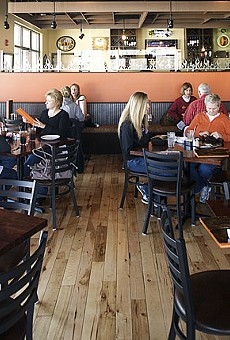 Click here for a full slideshow of photos from Peel Wood Fired Pizza.