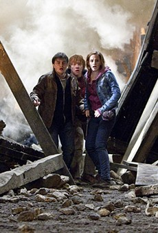 Harry Potter: Franchise king, hero of a generation, fights his last battle
