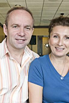 Laganini owners Edo and Aysha Sadikovic.