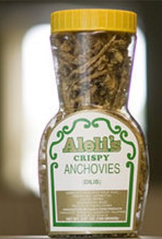 Aleli's Crispy Anchovies
