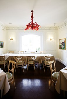 One of the beautiful rooms at Salt. Click here for more photos of Wes Johnson's Salt.