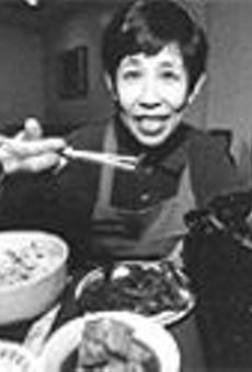 Young Oak Kang of Korea Garden, the best of the four restaurants sampled
