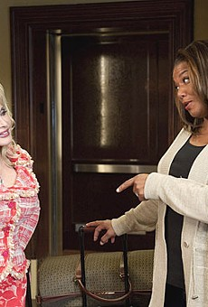 Dolly Parton and Queen Latifah in Joyful Noise