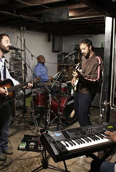 Brothers Lazaroff features an exceptionally talented backing band.