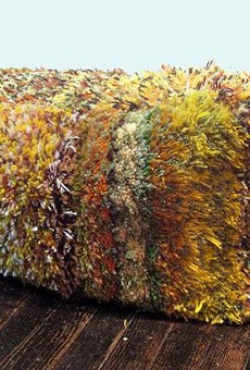 Larry Krone spins personal yarns with his work, on display at PSTL Gallery.