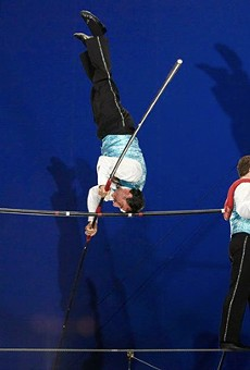 The Flying Wallendas at Circus Flora will make you flip your lid.