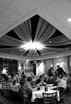 The Gabriele brothers provide the setting for relaxed,      upscale contemporary dining.