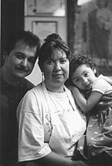 Salvador, Adela and Cristina Esparza of Lily's