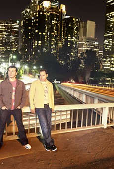 Rhythm Method: The duo brings their lively set to Europe Night Club on New Year's Eve.