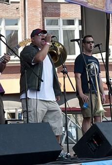 Funky Butt Brass Band.