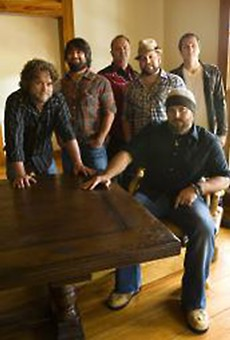 The Zac Brown Band: Knows its country history.