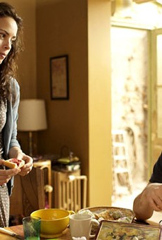 Bérénice Bejo and Tahar Rahim in The Past.
