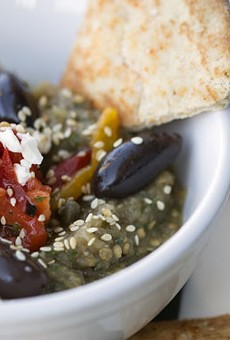 The baba ghanoush at Bistro 1130.               See photos: Bistro 1130 Serves Mediterranean Cuisine in Town & Country