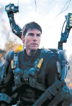 Tom Cruise in Edge of Tomorrow.
