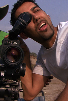 Director Jason DaSilva at work.