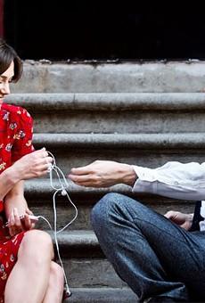 Keira Knightley and Adam Levine in Begin Again.